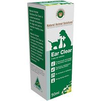 Ear Clear - Natural Animal Solutions 50ml