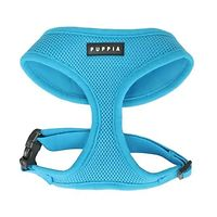 Puppia Soft Mesh Harness Blue