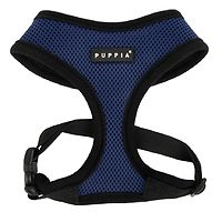 Puppia Soft Mesh Harness Navy